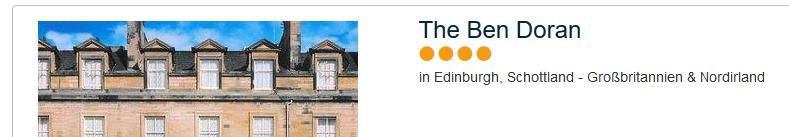 The Ben Doran 4 Sterne Hotel