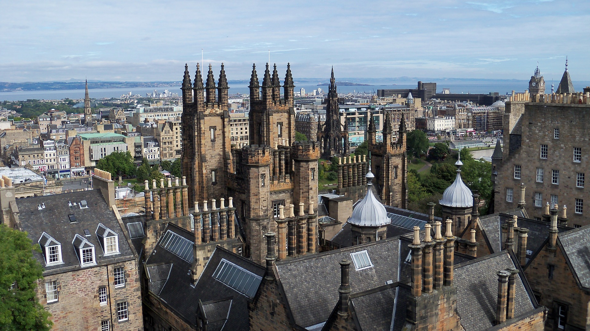 Und glaubst du an die Mythen der Geister in der Stadt Edinburgh