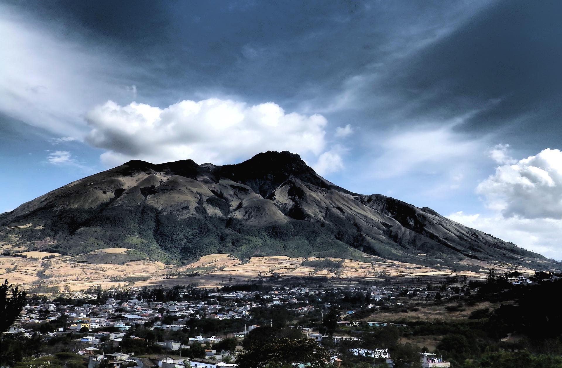 Vulkan Papallacta im Cotopaxi Nationalpark
