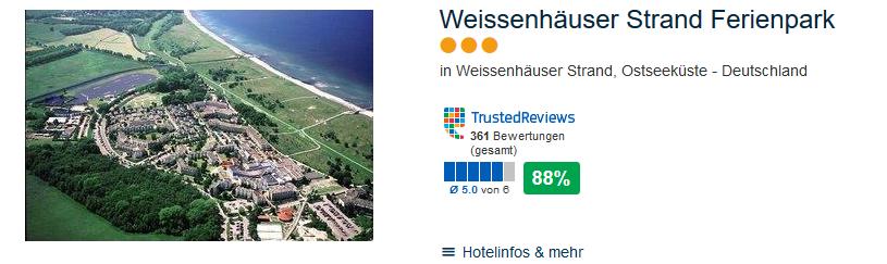 Weissenhäuser Strand Ostseeküste Deutschland