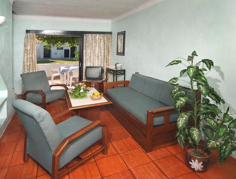 Wohnzimmer in Ihrem Apartment in der Algarve bei Portugalk