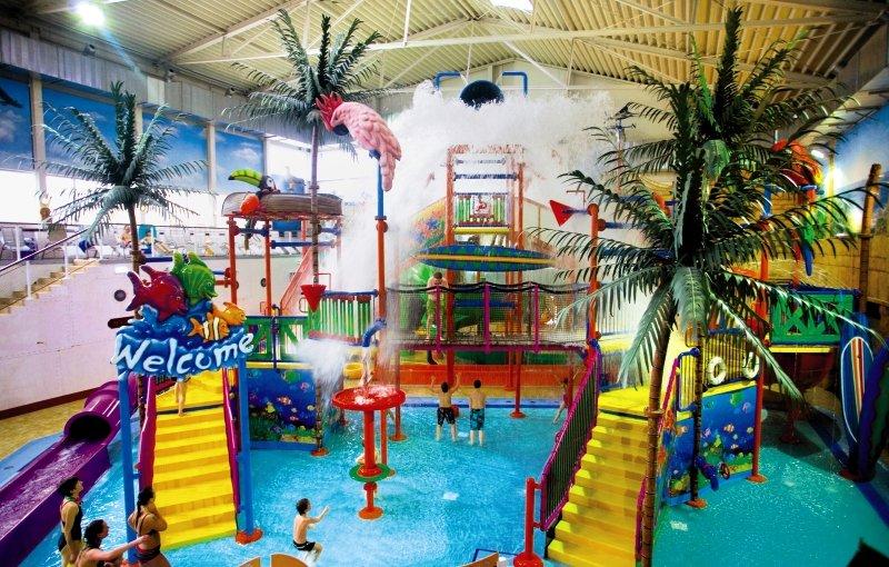 Zahlreiche Unterhaltungsmöglichkeiten für die Kinder bietet das Ferienpark