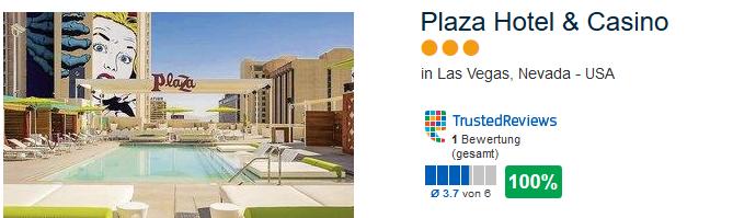 Plaza Hotel & Casino in Las Vegas