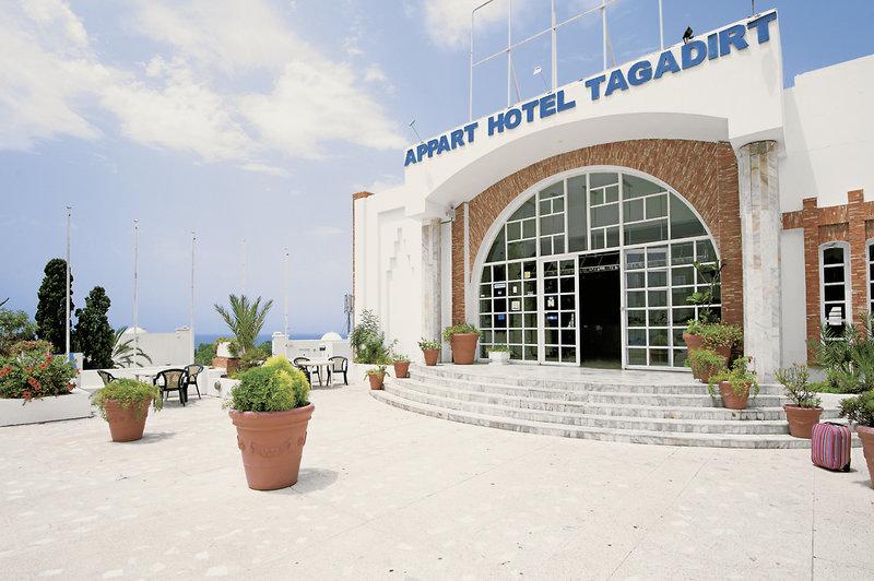3 Sterne Hotel in Marokko an der Attlantikküste von vorne