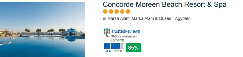 5 Sterne Deal Screenshot günstig 9 Nächte ab 383,00€