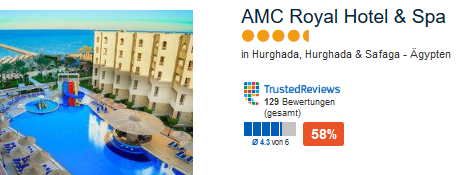 AMC Royal Hotel & Spa 4,5 Sterne