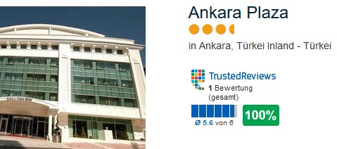 Ankara Plaza Hotel - meine Empfehlung