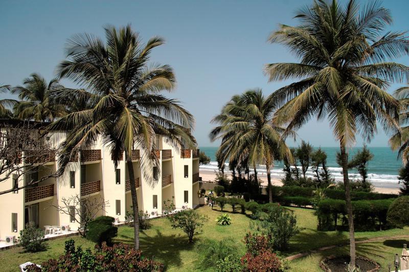 Anlage vom 4 Sterne Hotel Kombo Beach
