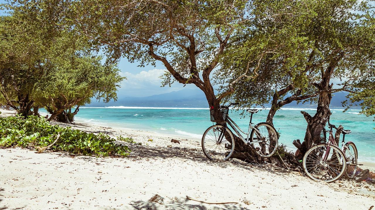 Aufjedenfall die beste möglichkeit die Inseln zu erkunden in die Tasche zu greifen- auf dem Fahrrad