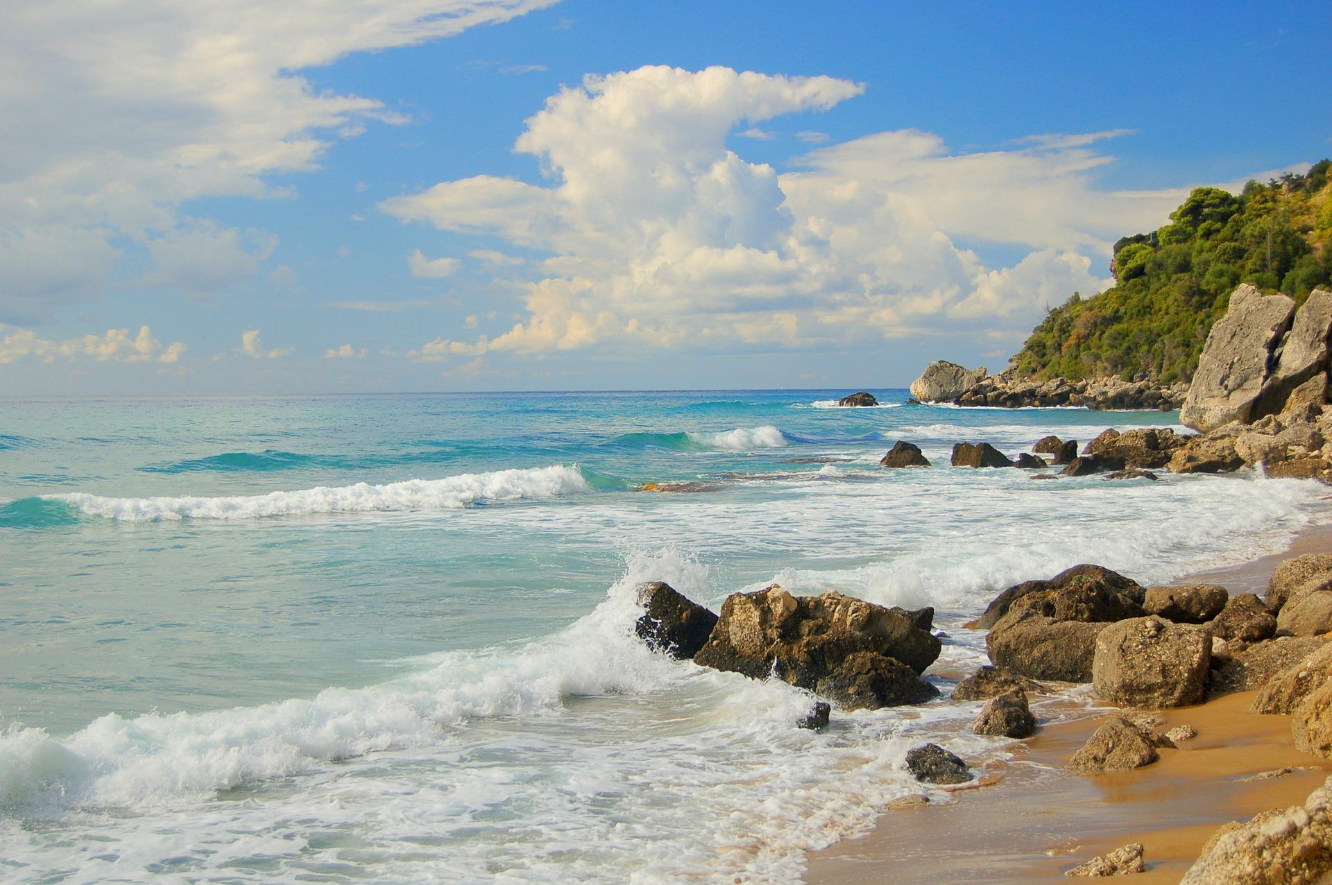 Bei Kitsurfern ist der Strand im Süden der Insel am beliebtesten