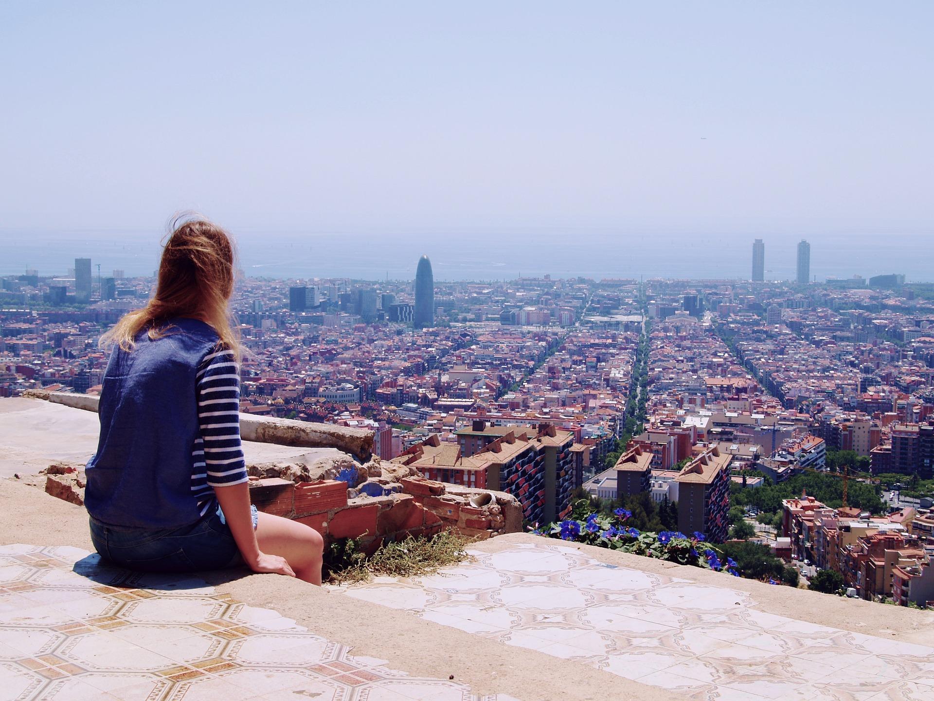 Bei einer Städtereise nach Barcelona kann ich nur empfehlen die Aussichtsplattform der Stadt warzunehmen