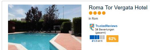 Beispiel Hotel in Rom