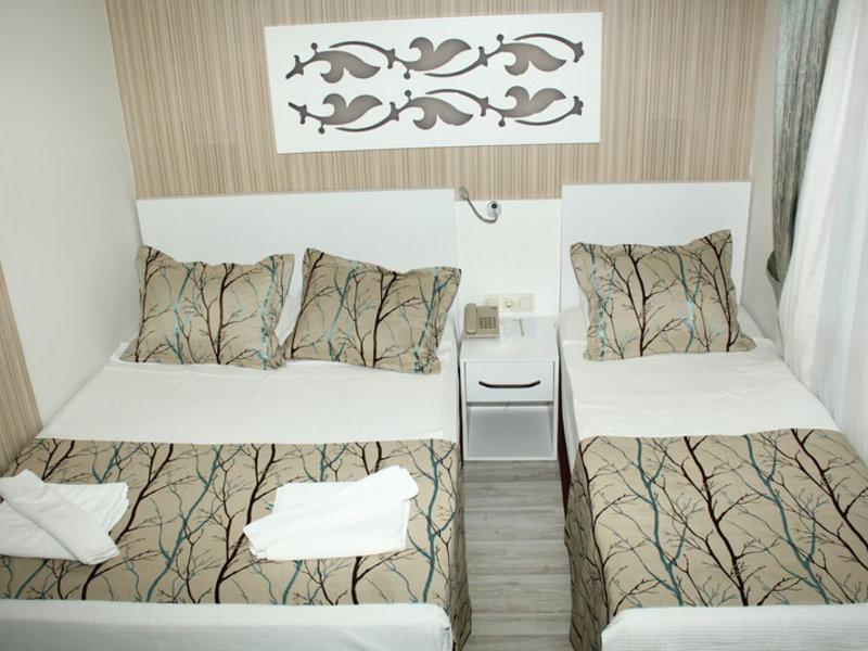 Beispiel Schlafbereich im Hotelzimmer