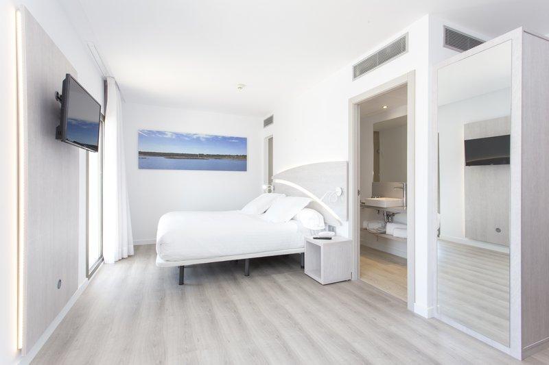 Beispiel Zimmer in einer Unterkunft auf Palma de Mallorca