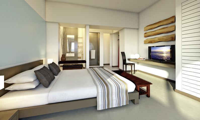 Beispiel der Hotelzimmer der 3,5 Sterne Unterkunft mit 96% positiver Bewertung