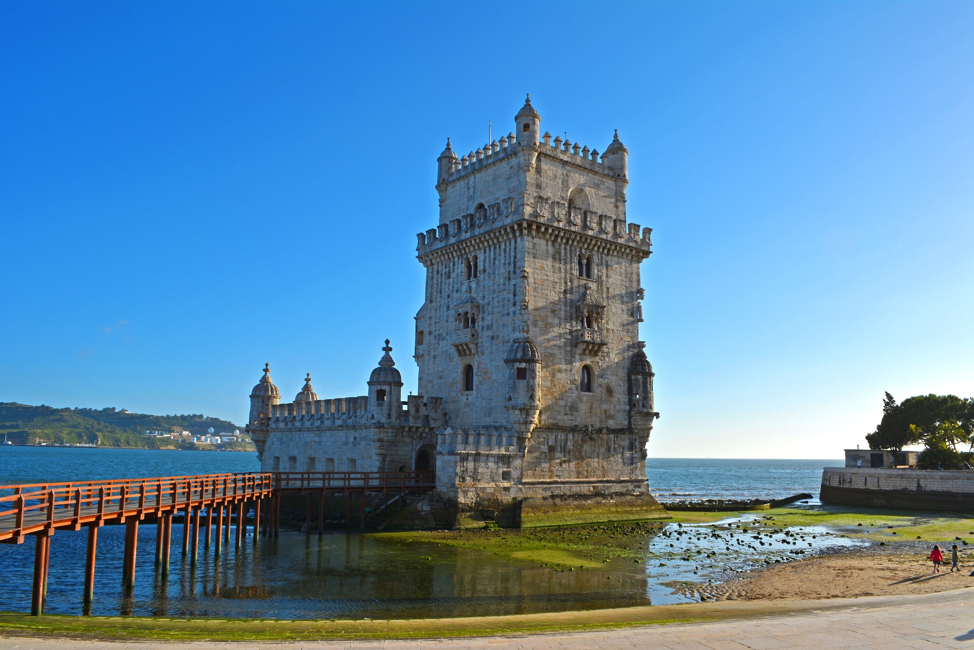 Berühmte Behlen Turm von Lissabon