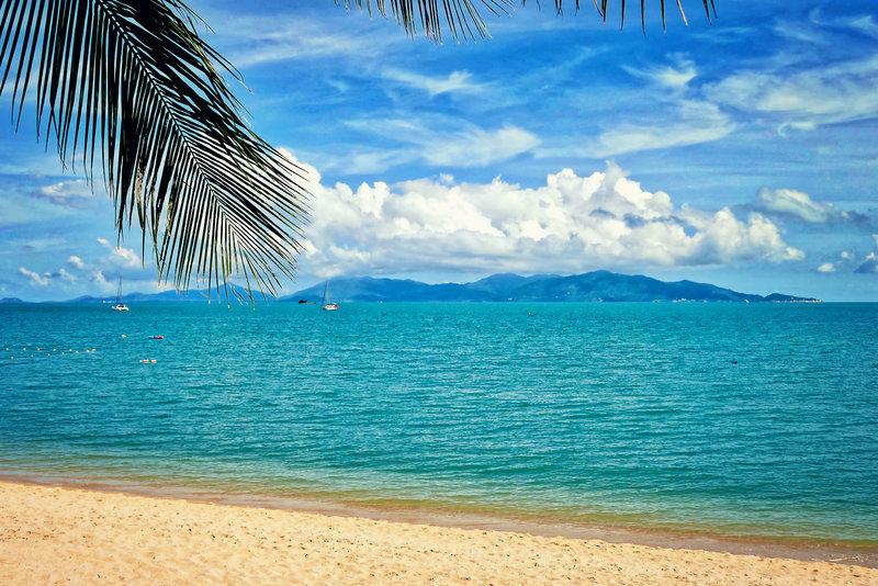 Bo Phut Beach gegenüber Koh Phangan