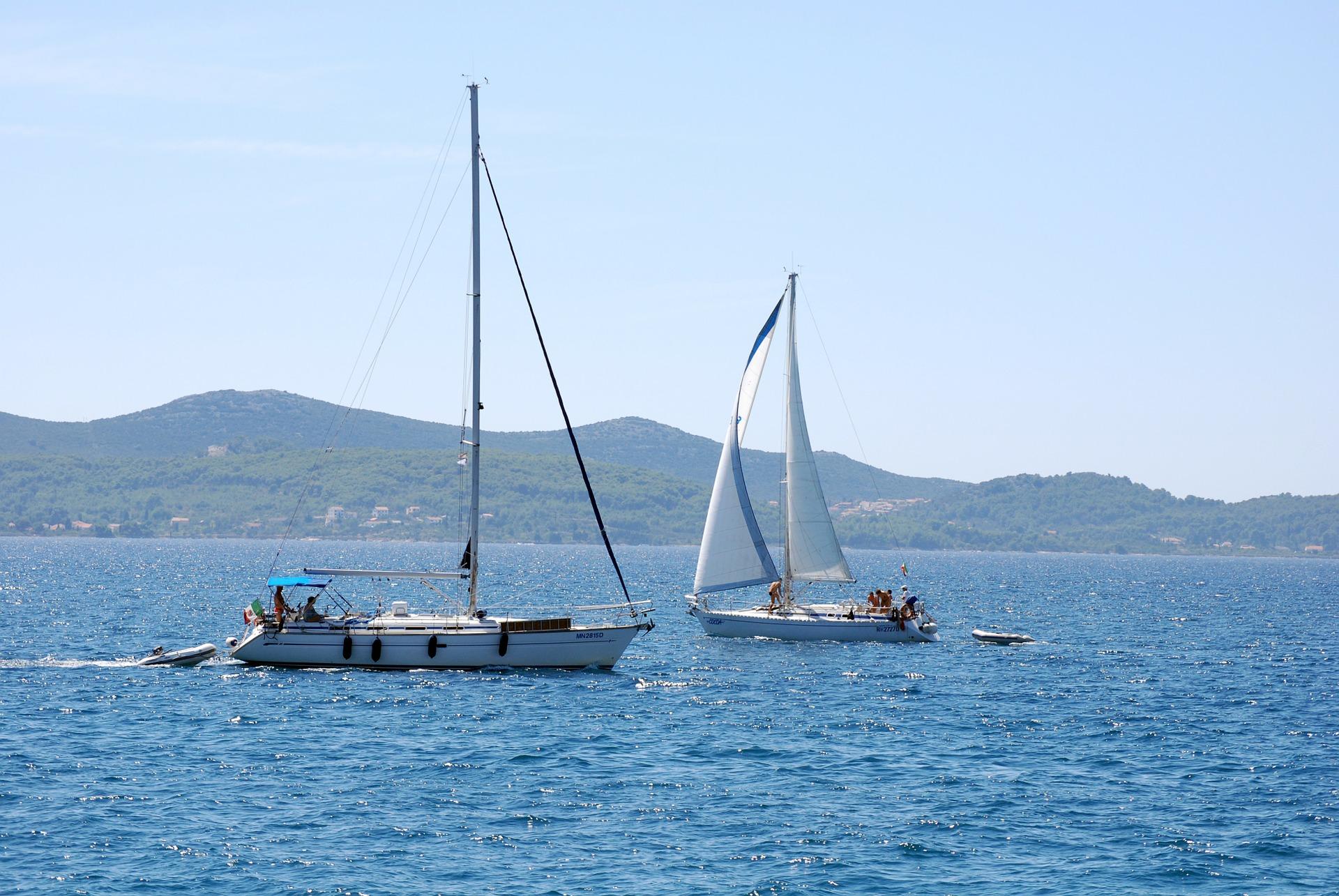 Bootfahren an der Adriaküste