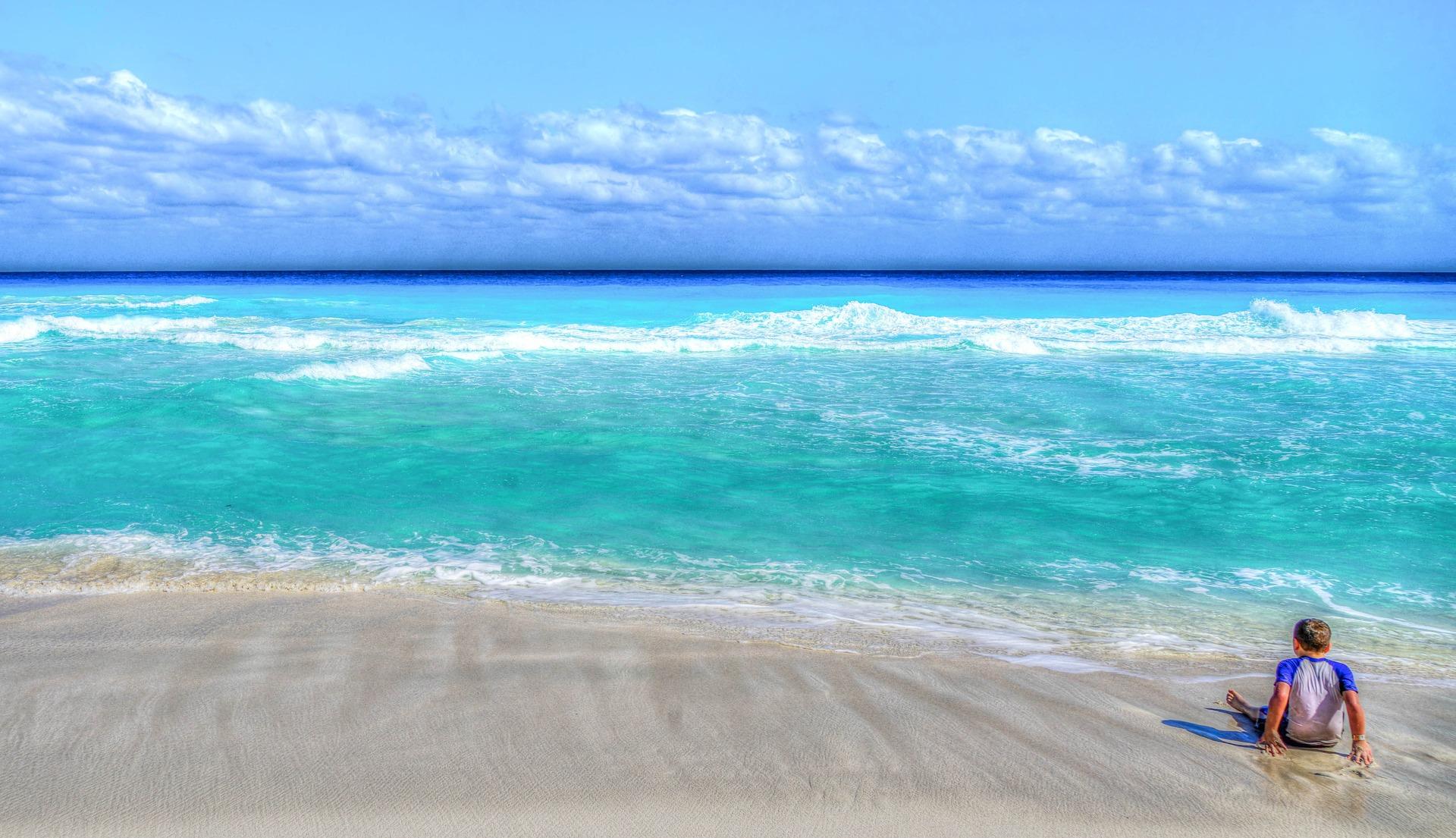 Cancun Urlaub am karbischen Meer eine Woche - ich empfehle euch mindestens 9 Tage zu bleiben wegen den 12 Stunden Flugzeiten