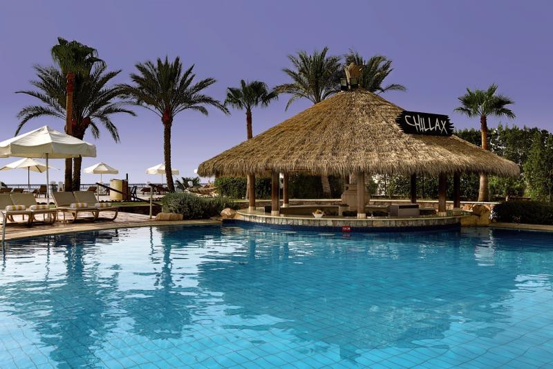 Chillen im Hilton an der Poolbar Rsa um el Sid -