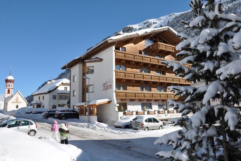 Das Hotel Kleon in Vent Österreich