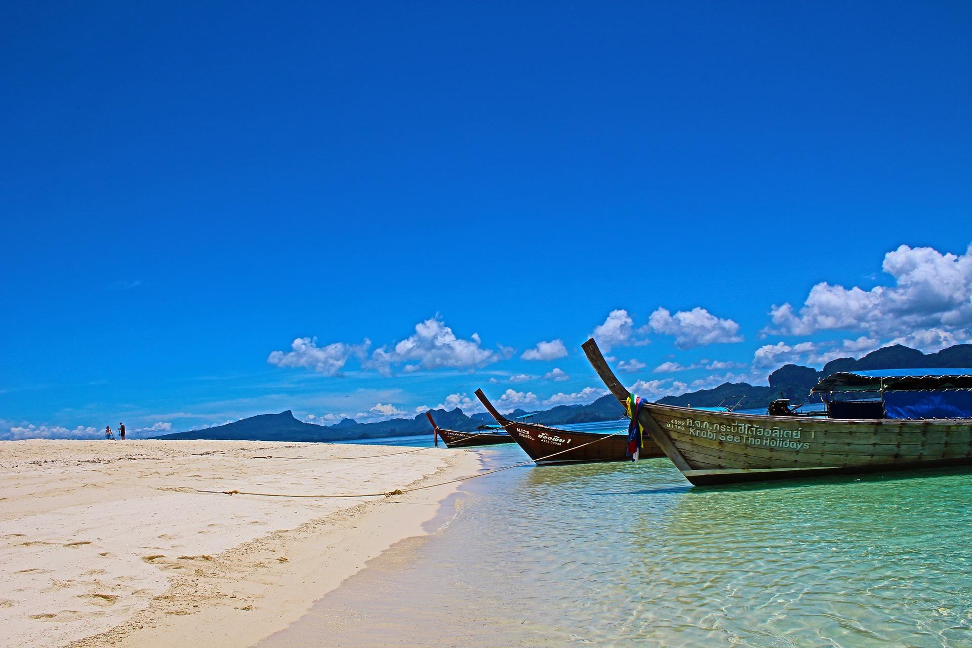 Das Krabi Resort liegt direkt am Klong Muang Beach , genießt diese traumhaften Strände