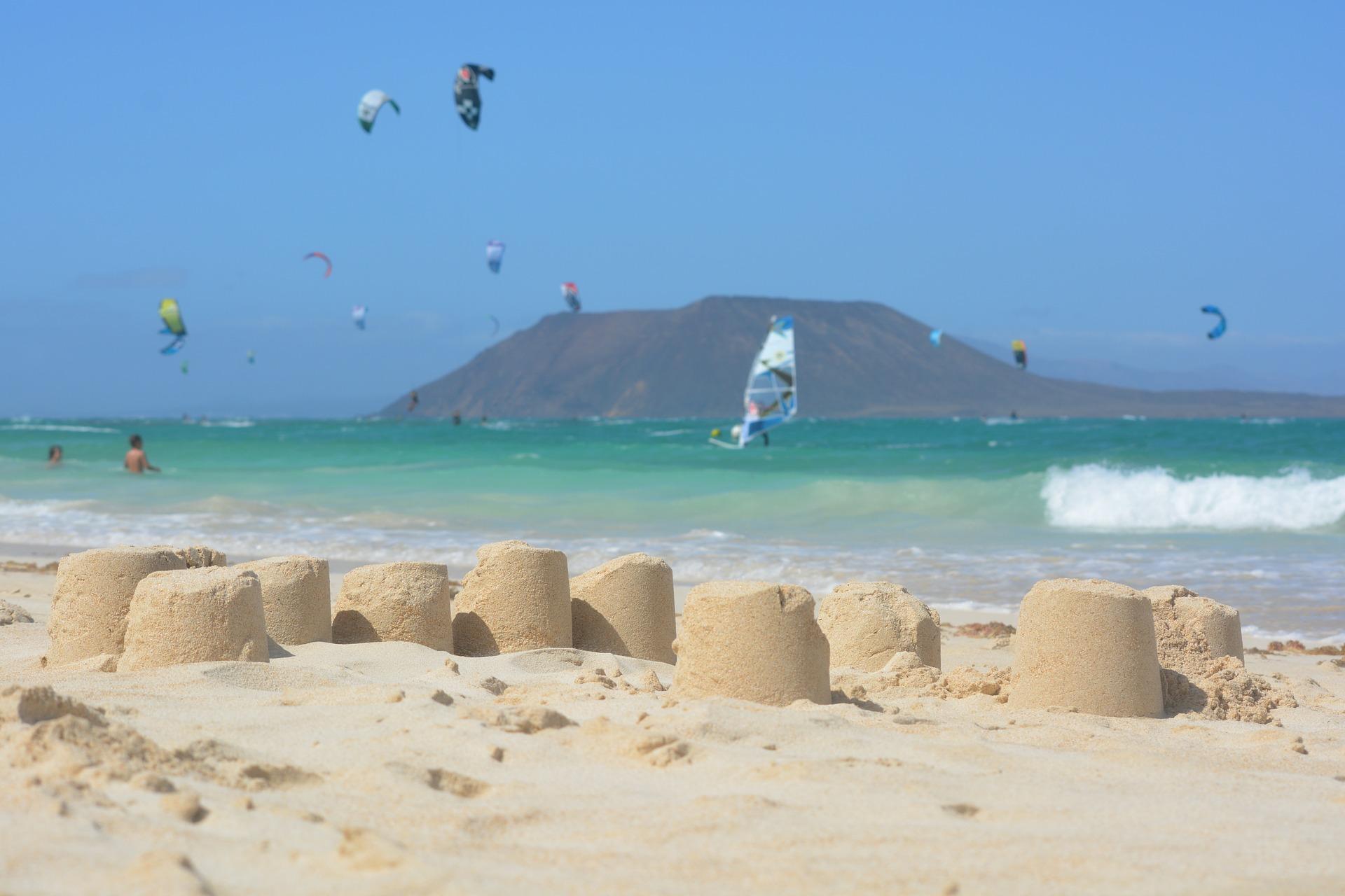 Das Wassersport Angebot auf der Insel auf den Kanaren ist wirklich sehr gefragt
