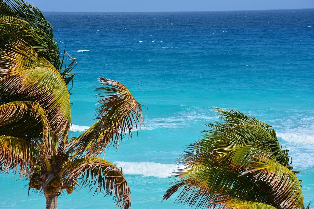 Das kairbische Meer von seiner schönsten Seite ob am Playa del Carmen oder an der Riviera de Maya