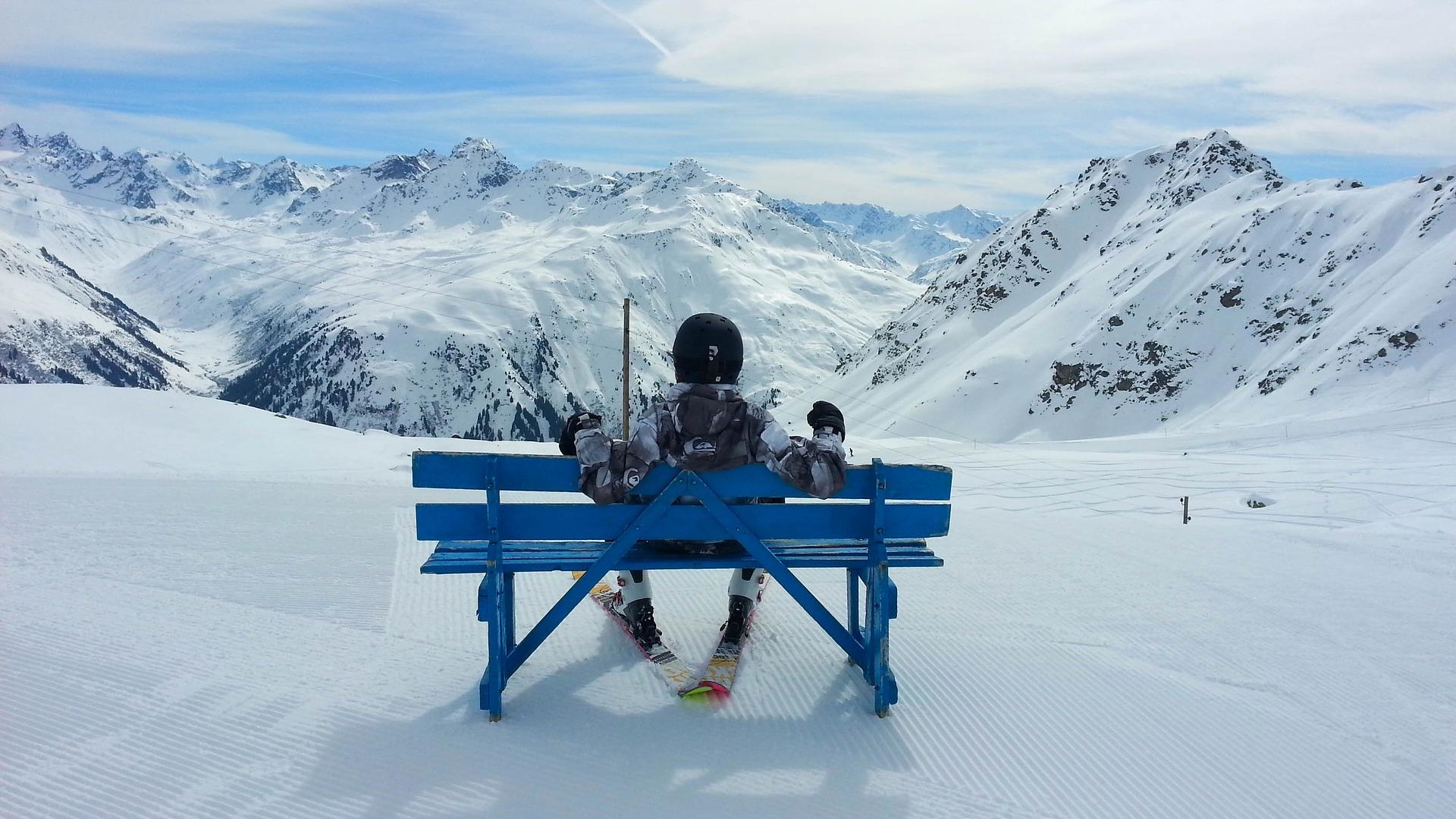 Davos Kloster ein beliebtes Skigebiet in der Schweiz