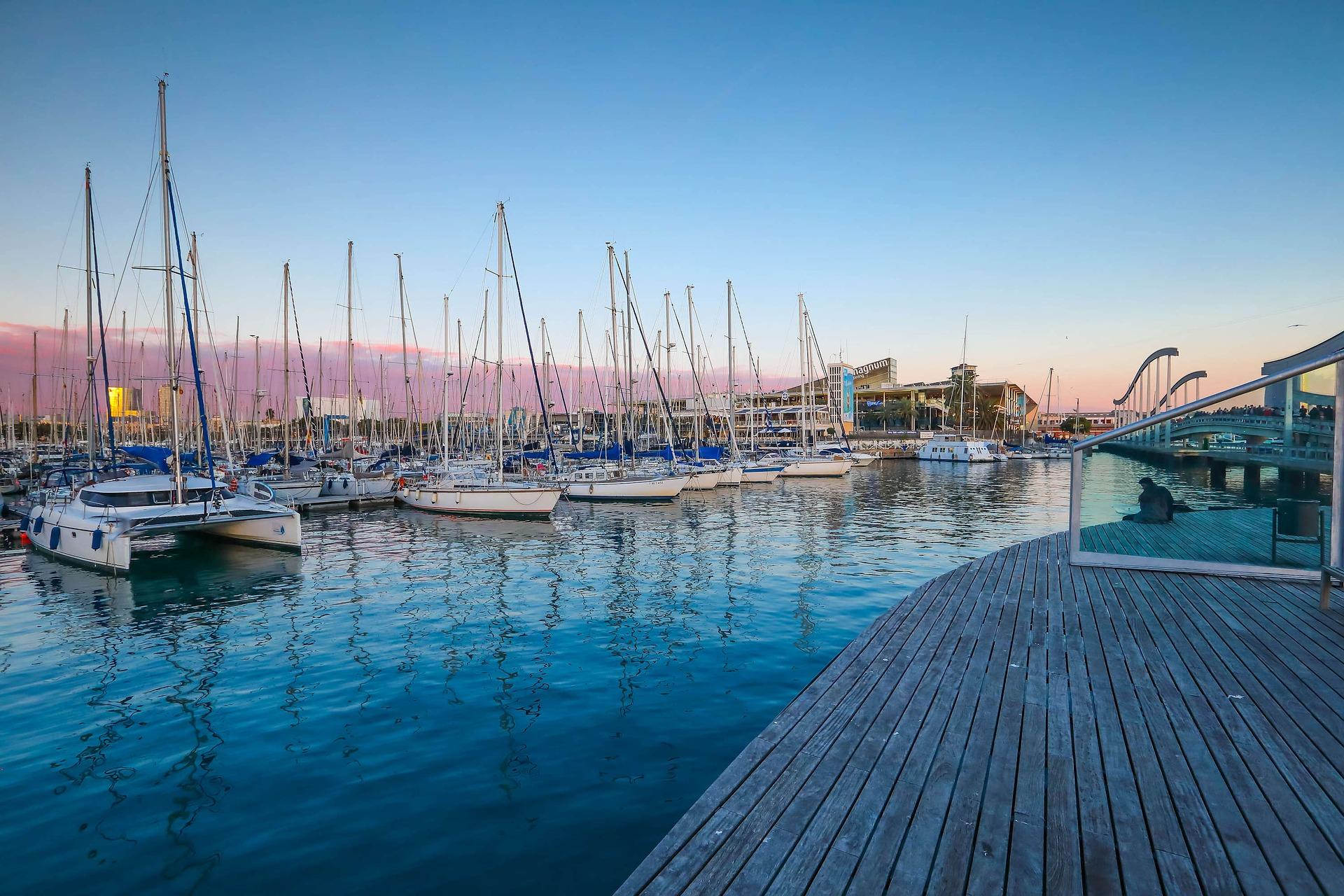 Der Hafen der beliebteste Hotspot für Touristen