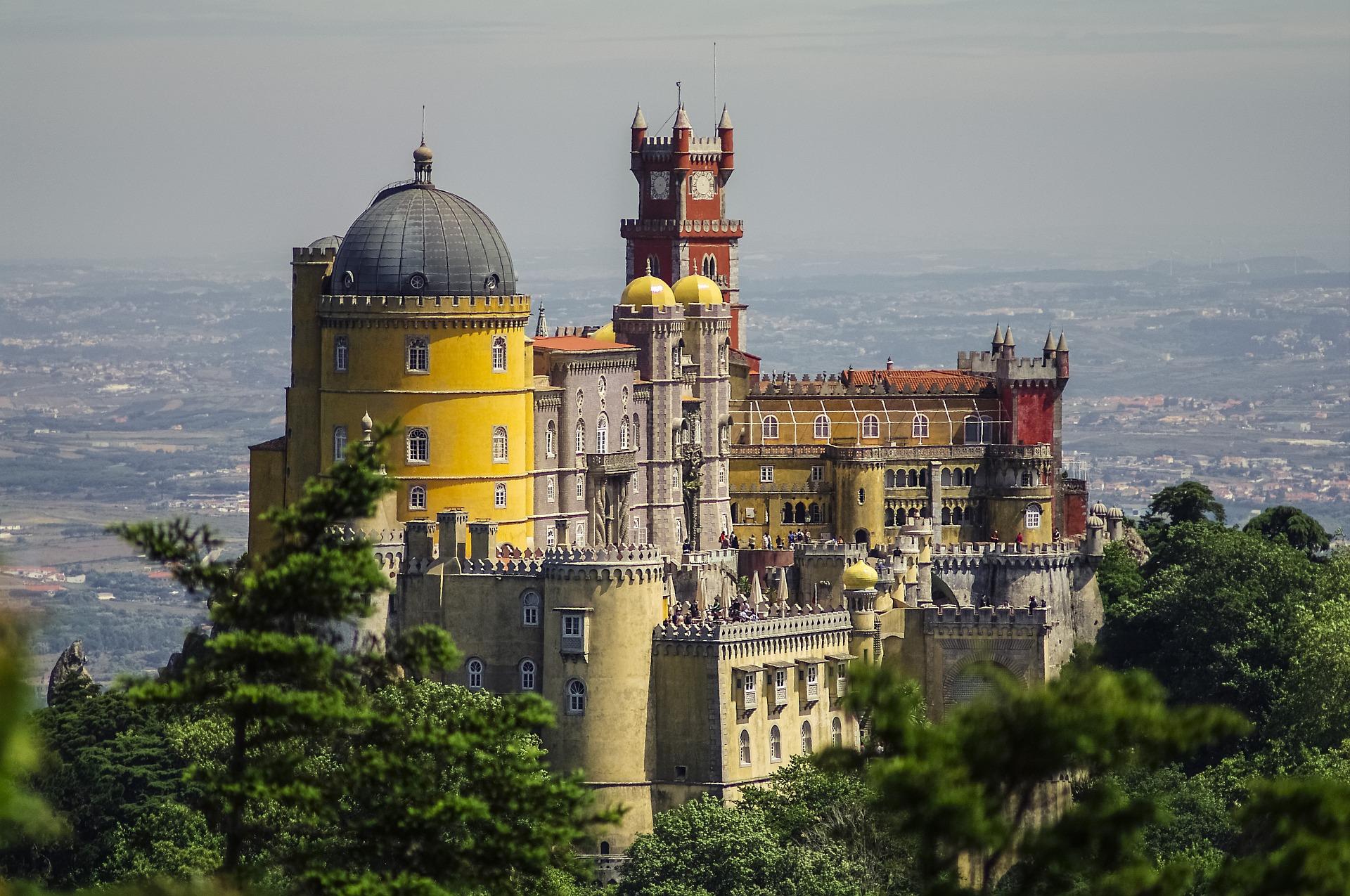 Die Burg der portugiesischen Hauptstadt