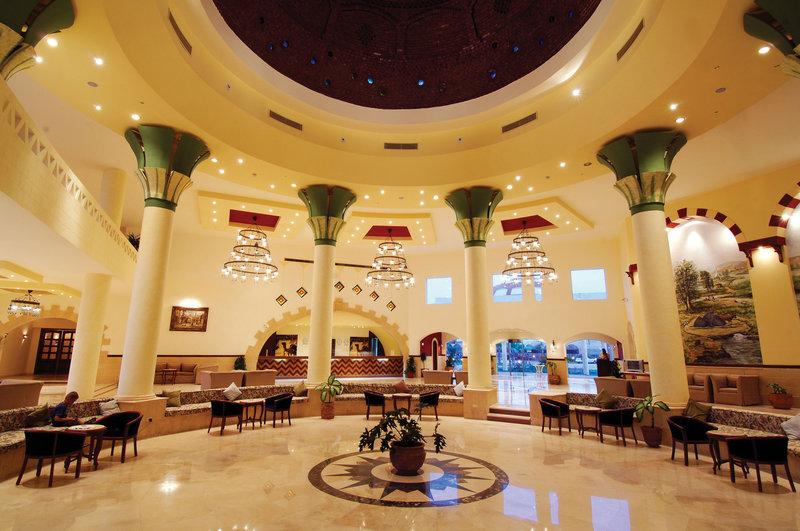 Die Lobby vom Jolie Beach Resort Marsa Alam
