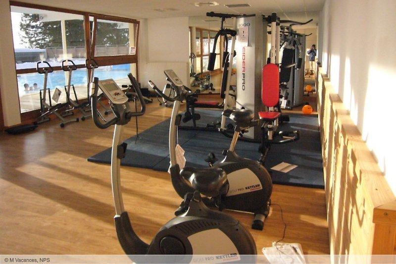 Die Nutzung des Fitnesscenters ist natürlich inklusive , wie der Skipass