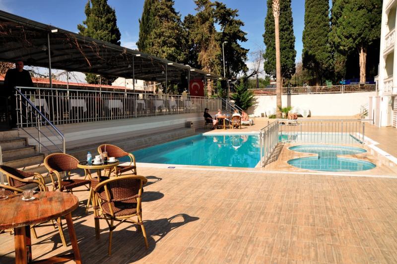 Die Poolanlage mit Whirlpool im Side Miami Beach 3 Sterne Hotel