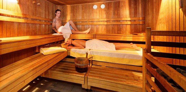 Die Sauna in der Villa Gusthof in Hoihenwarth - Bayern