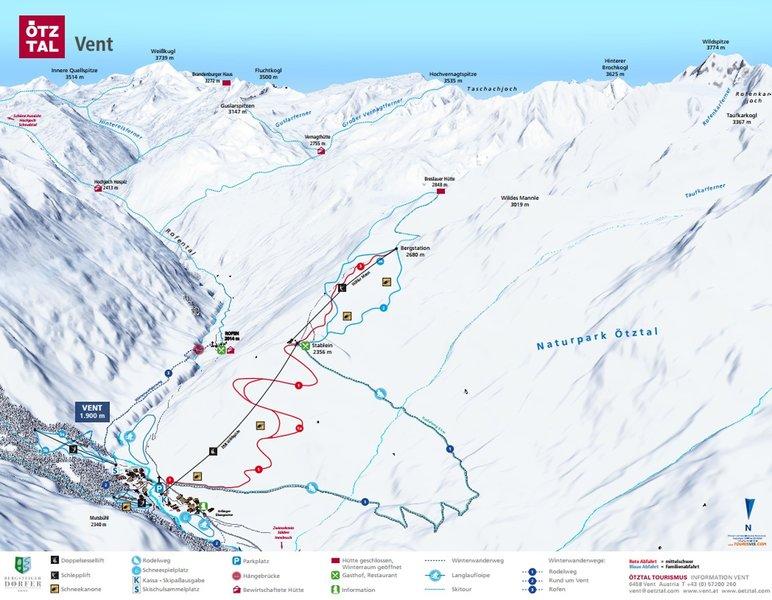 Ein Überblick der Piste - Skiurlaub All Inklusiv an der Piste
