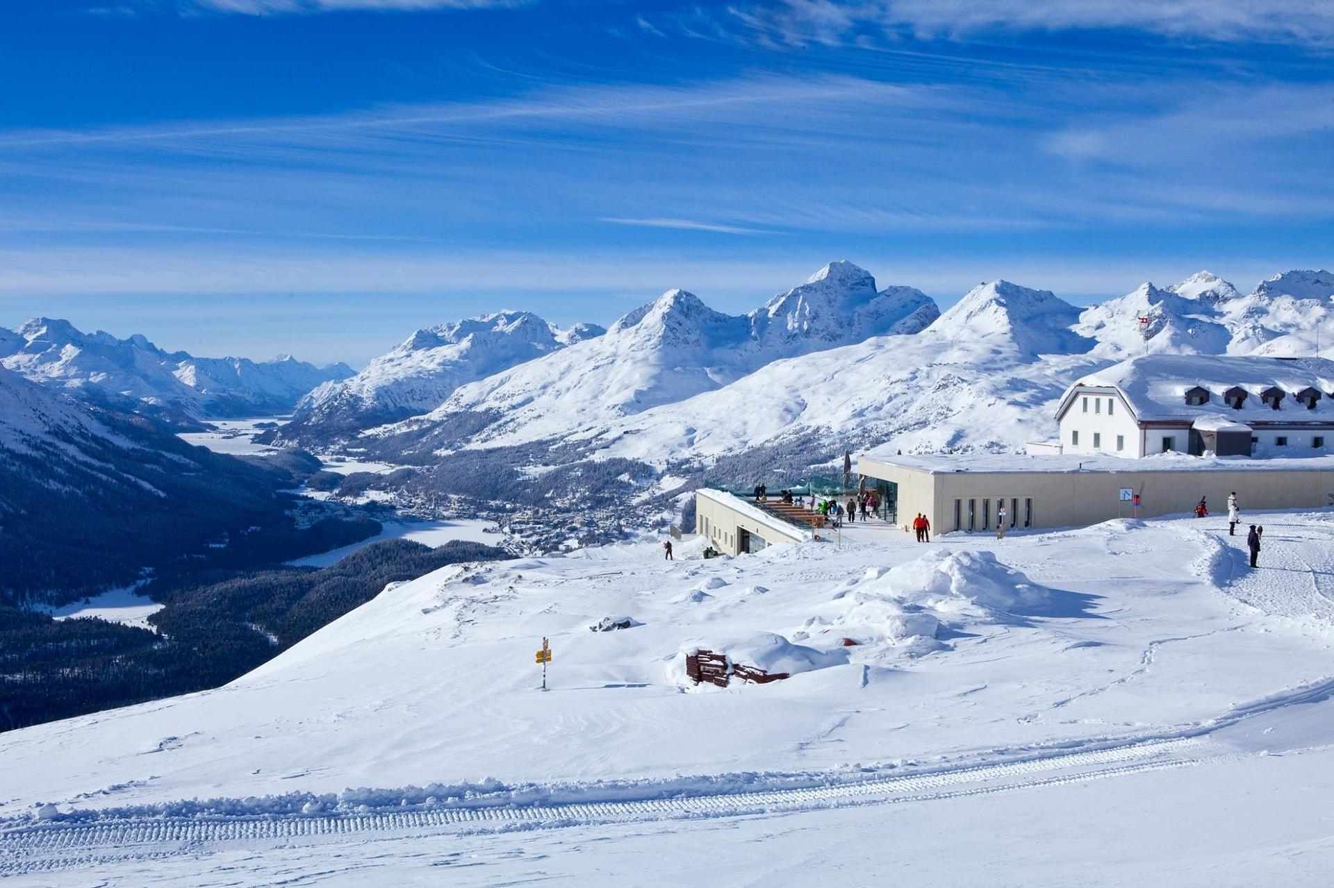 Engadin Skigebiet Schweiz Top 3