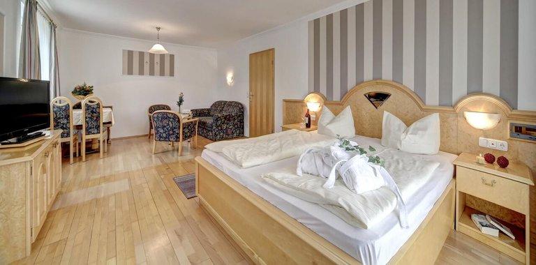 Familienzimmer im guten Hotel in Nationalpark der Bundesrepublik