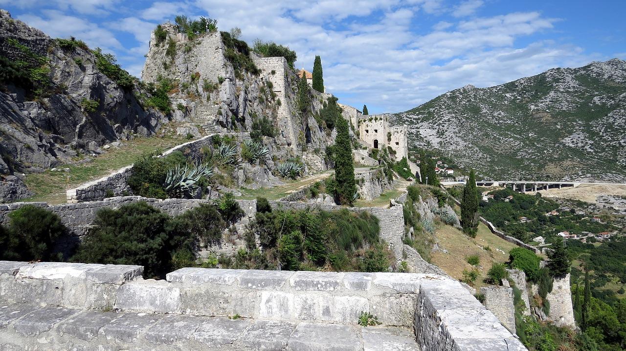 Festung Klis - Leider habe ich nur dieses eine Bild geknippst als ich selber vor Ort war