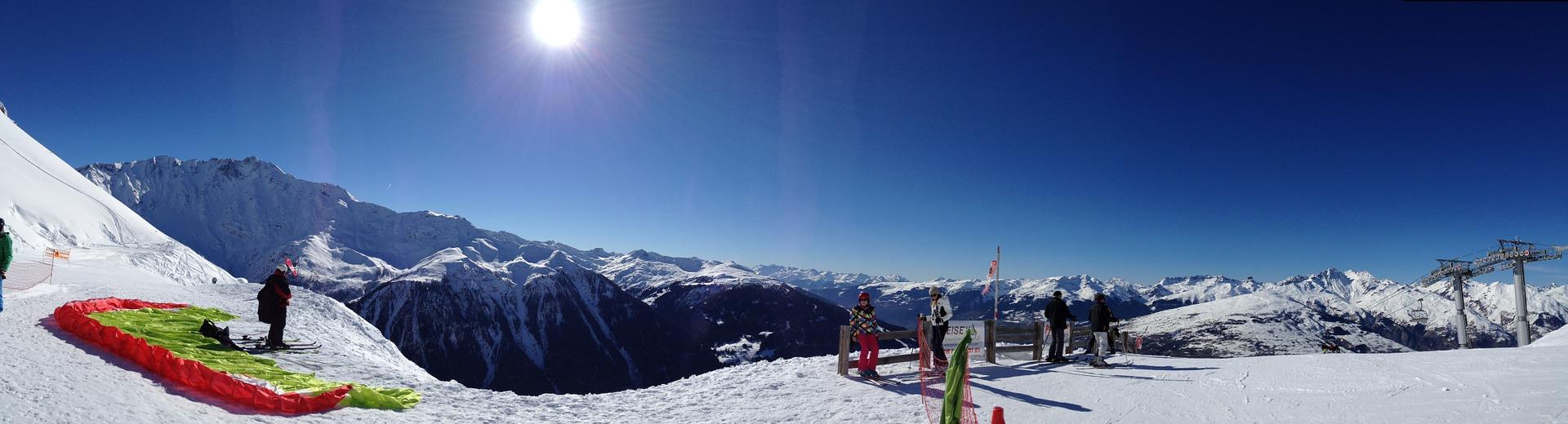 Französische Alpen - Frankreich Skifahren ab 159,00€ die Woche