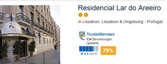 Günstiges Hotel in Lissabon