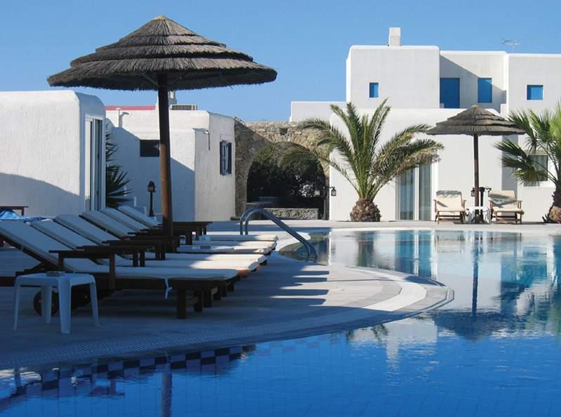 Glastros auf der Insel Mykonos einen Urlaub planen