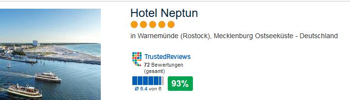 Hotel Neptun 5 Sterne Unterkunft