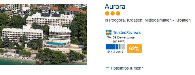 Hotel in Podgora