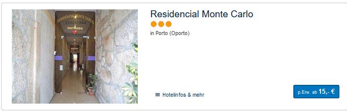 Hotel in der Stadt günstig ab 15,00€ die Nacht bei mir finden