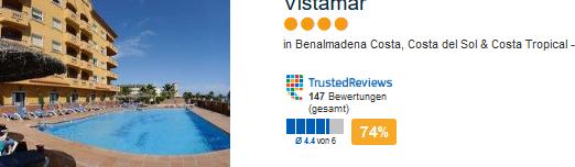 Hotelbeispiel bei Malaga