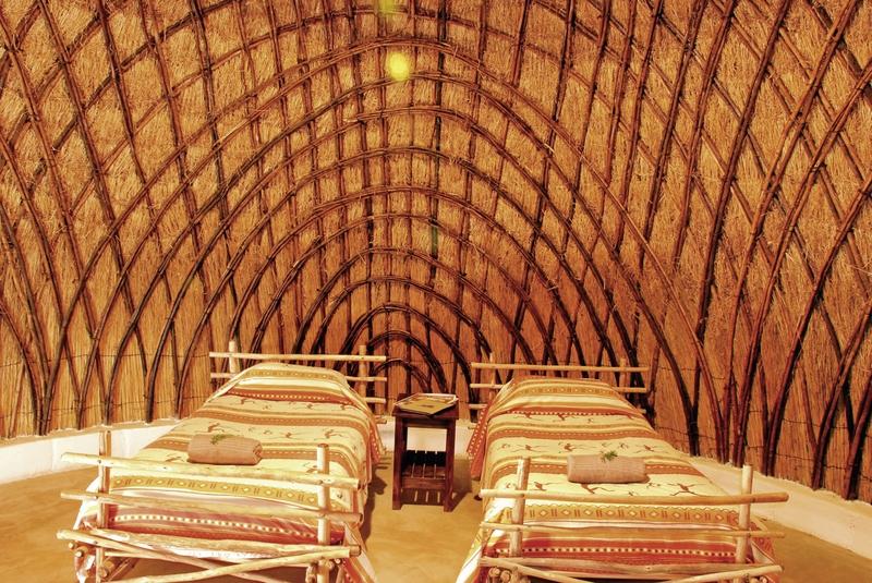 Hotelzimmer im Milwane Rest Camp