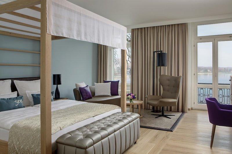 Hotelzimmer in Konstanz im 5 Sterne Steigenberger