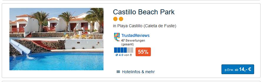 Hotelzimmer starten schon günstig ab 14,00€ die Nacht