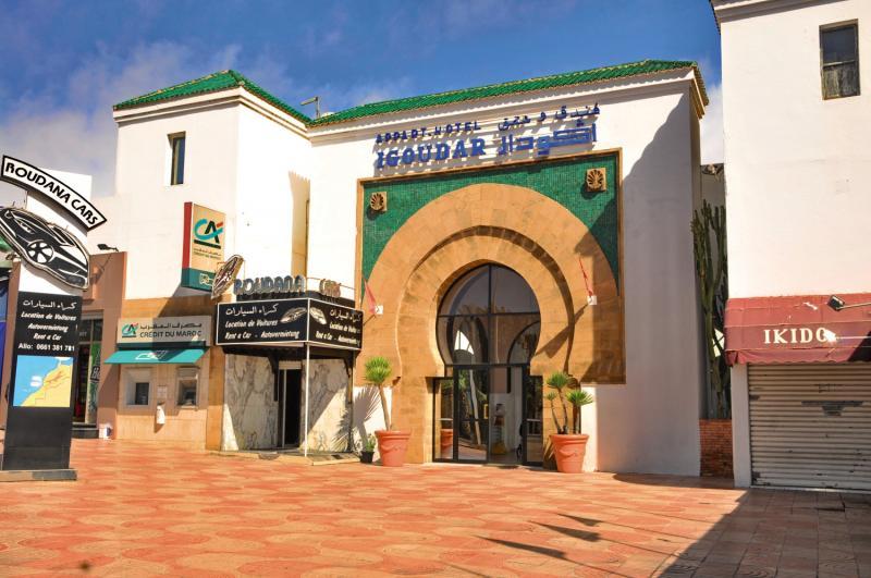 Igoudar Hotel von Vorne